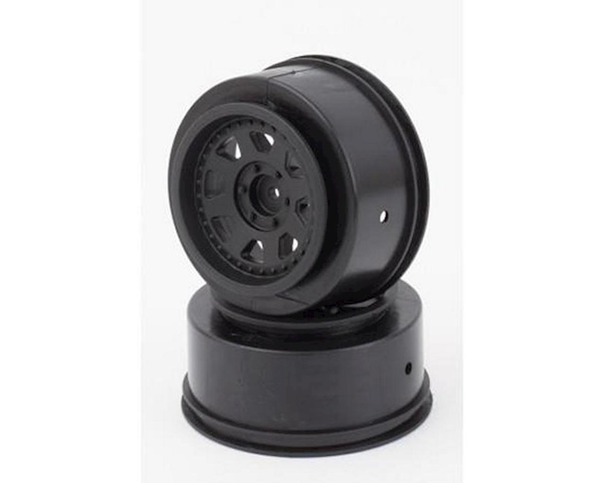 Wheels, Black, 24mm-OS by Helion