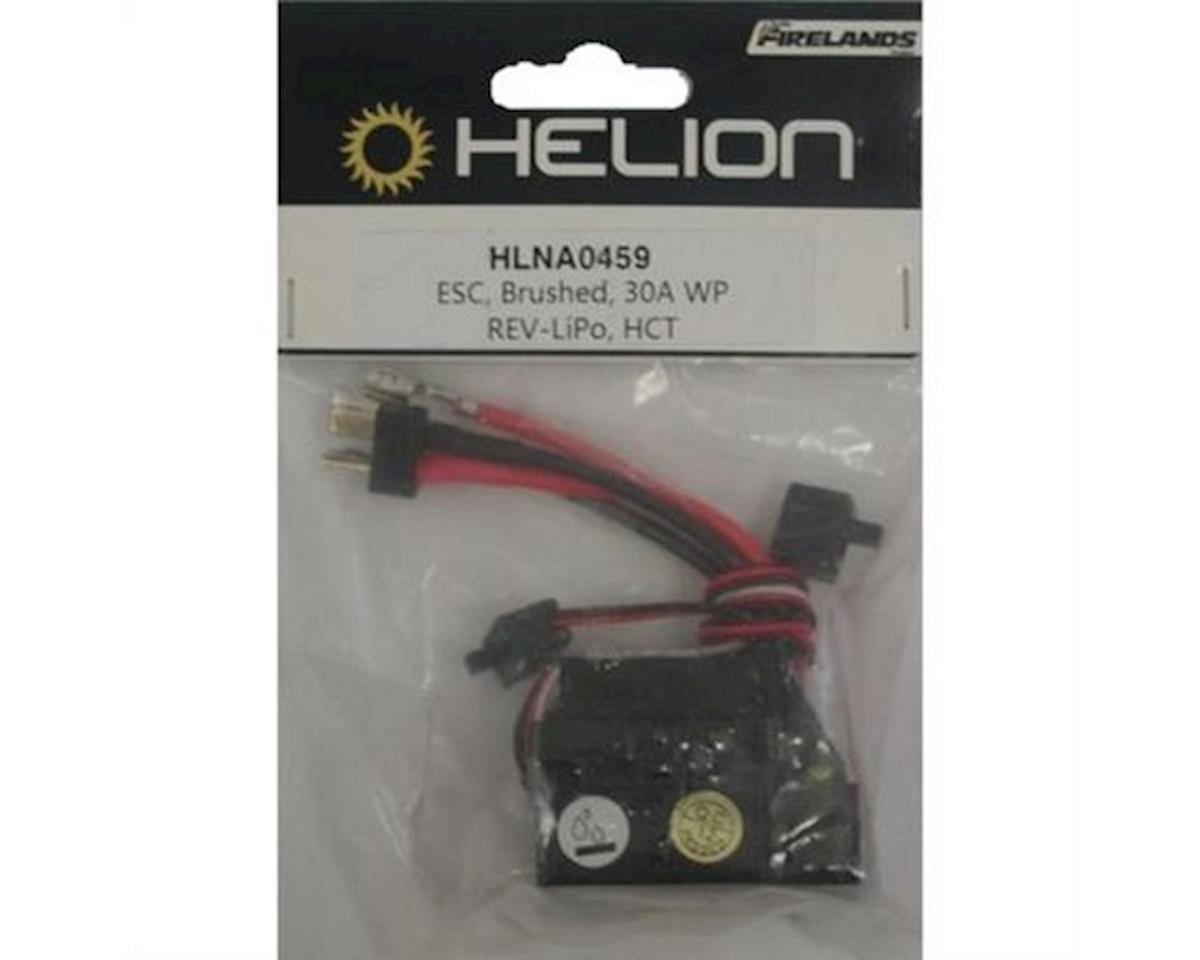 Helion ESC, Brushed, 30A Waterproof Reverse-LiPo, 4WD, HCT-Plug