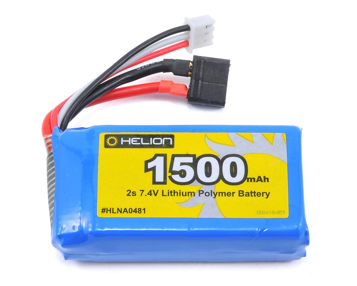 Helion RC 2S LiPo Battery (7.4V/1500mAh) (Impakt, Verdikt, Contakt)