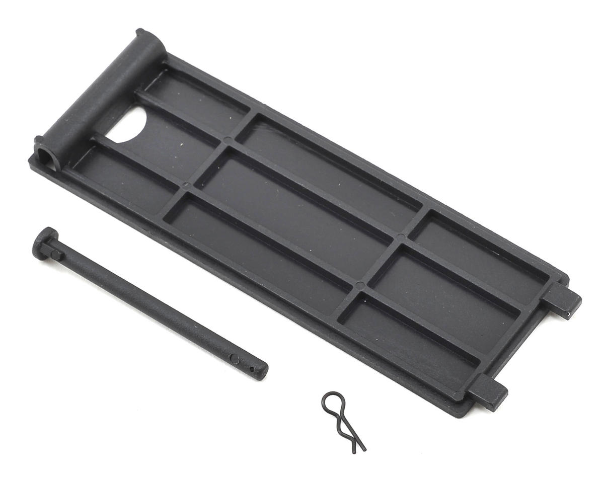 Helion RC Battery Door Cover & Pin (Impakt, Verdikt, Contakt)