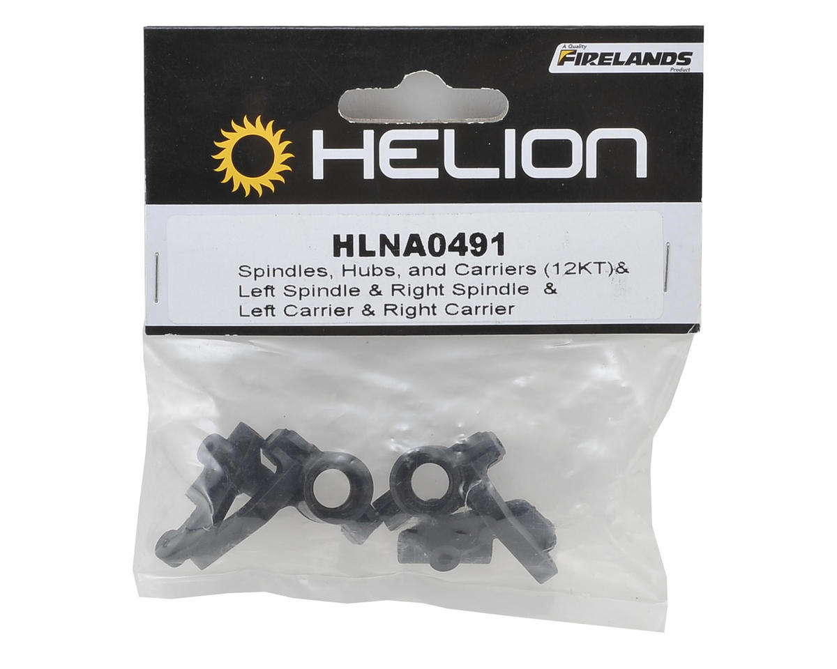 Helion RC Spindle & Carrier Set (Impakt, Verdikt, Contakt)