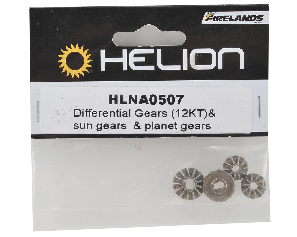 Helion RC Differential Gear Set (Impakt, Verdikt, Contakt)