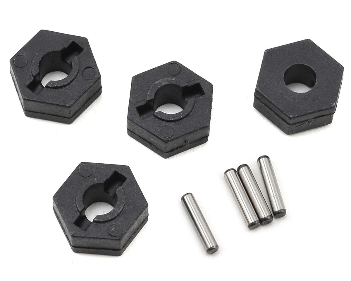 Helion 12mm Wheel Hex Adapter (4) (Impakt, Verdikt, Contakt)