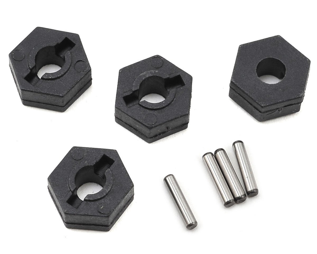 12mm Wheel Hex Adapter (4) (Impakt, Verdikt, Contakt) by Helion RC
