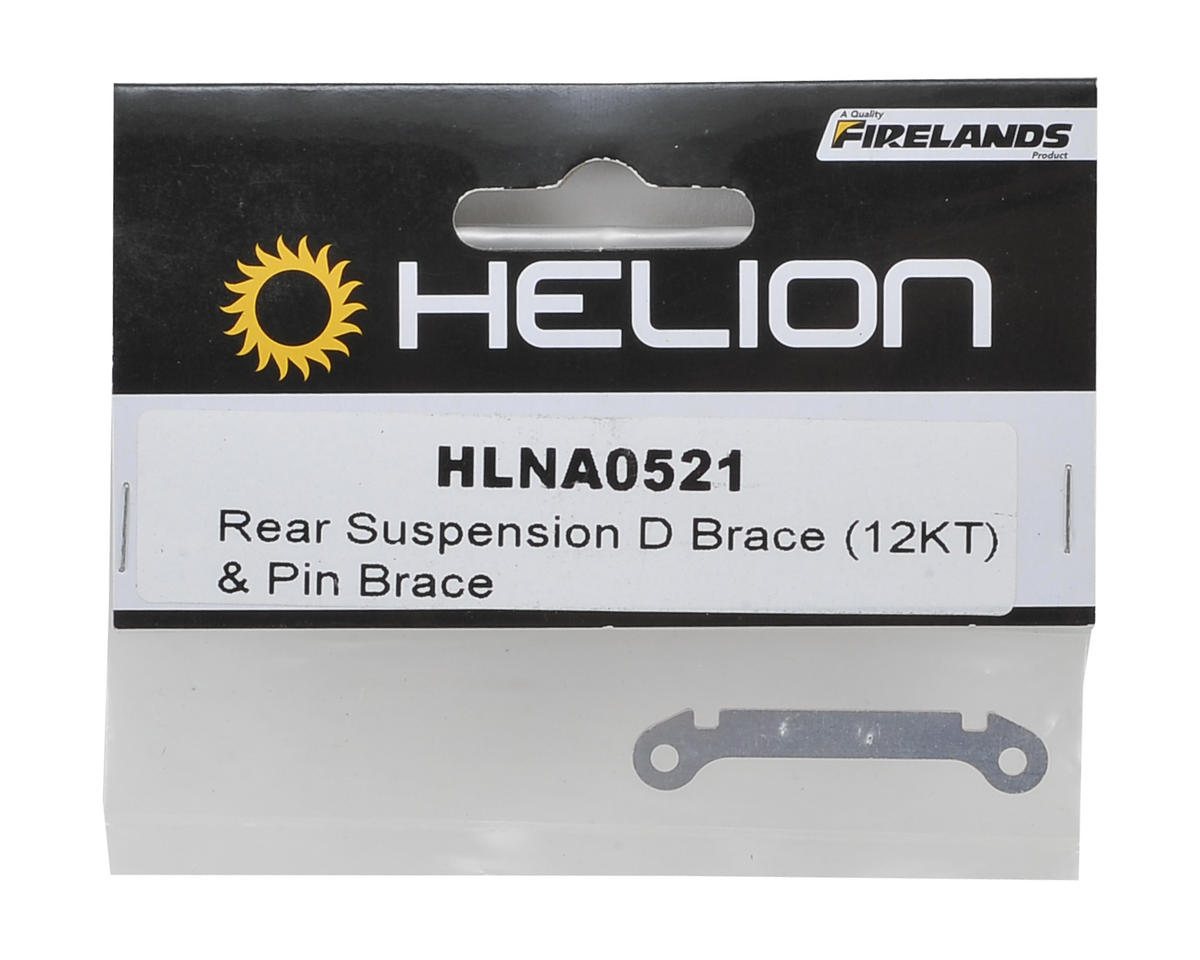 "Helion RC Rear Suspension ""D"" Brace (Impakt, Verdikt, Contakt)"