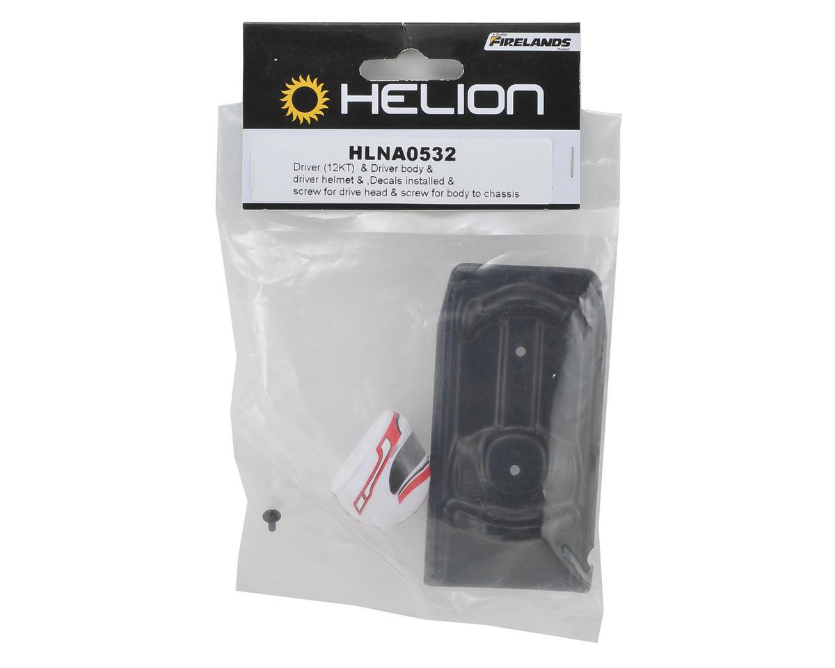 Helion RC Pre-Painted Driver Body Set (Impakt, Verdikt, Contakt)