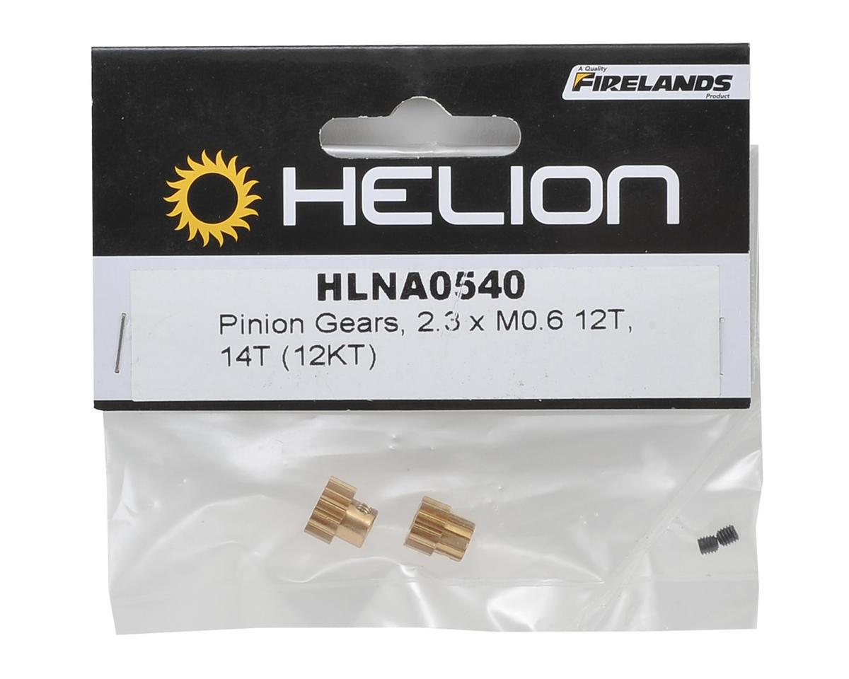 Helion RC 2.3xM0.6 Pinion Gear Set (12T & 14T) (Impakt, Verdikt, Contakt)