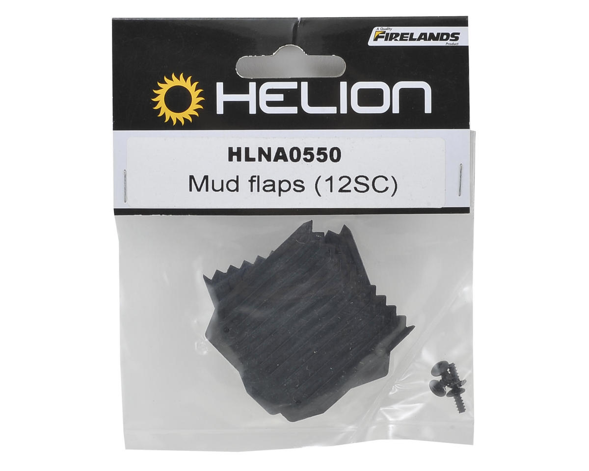 Helion RC Rubber Mud Flap (2) (Verdikt)