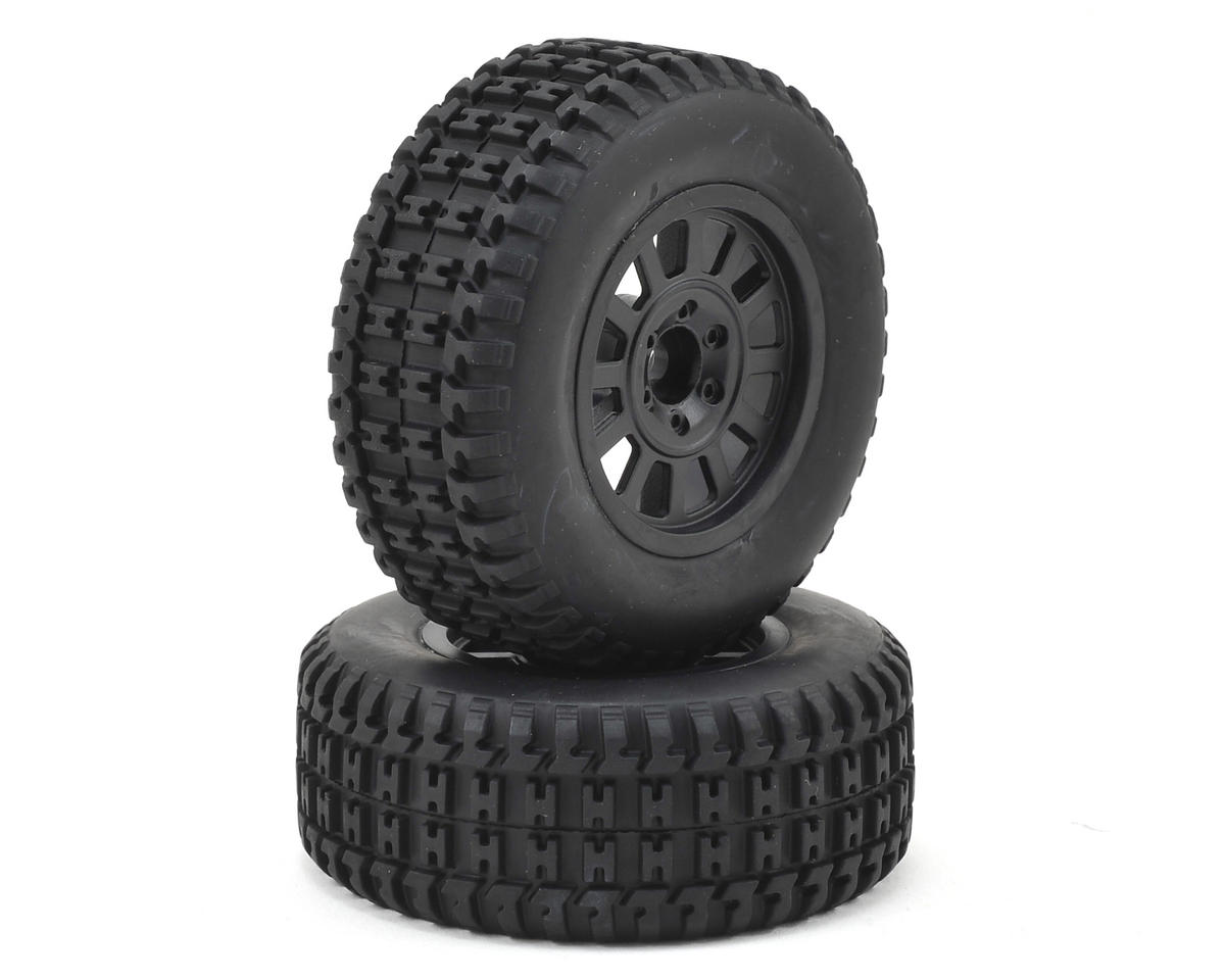 Pre-Mounted Tires (Black) (Verdikt) by Helion RC