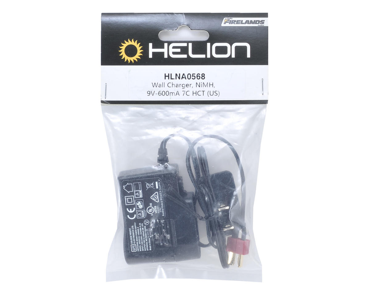 Helion NiMH 7-Cell Wall Charger (9V-600mA)