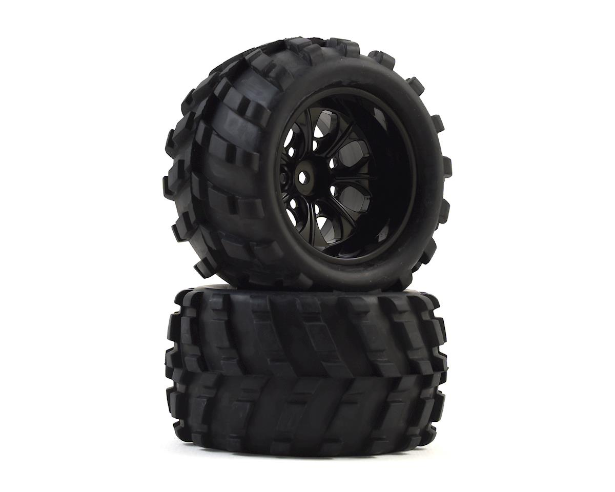 Helion HLNA0699 Wheel and Tire Set 18MT