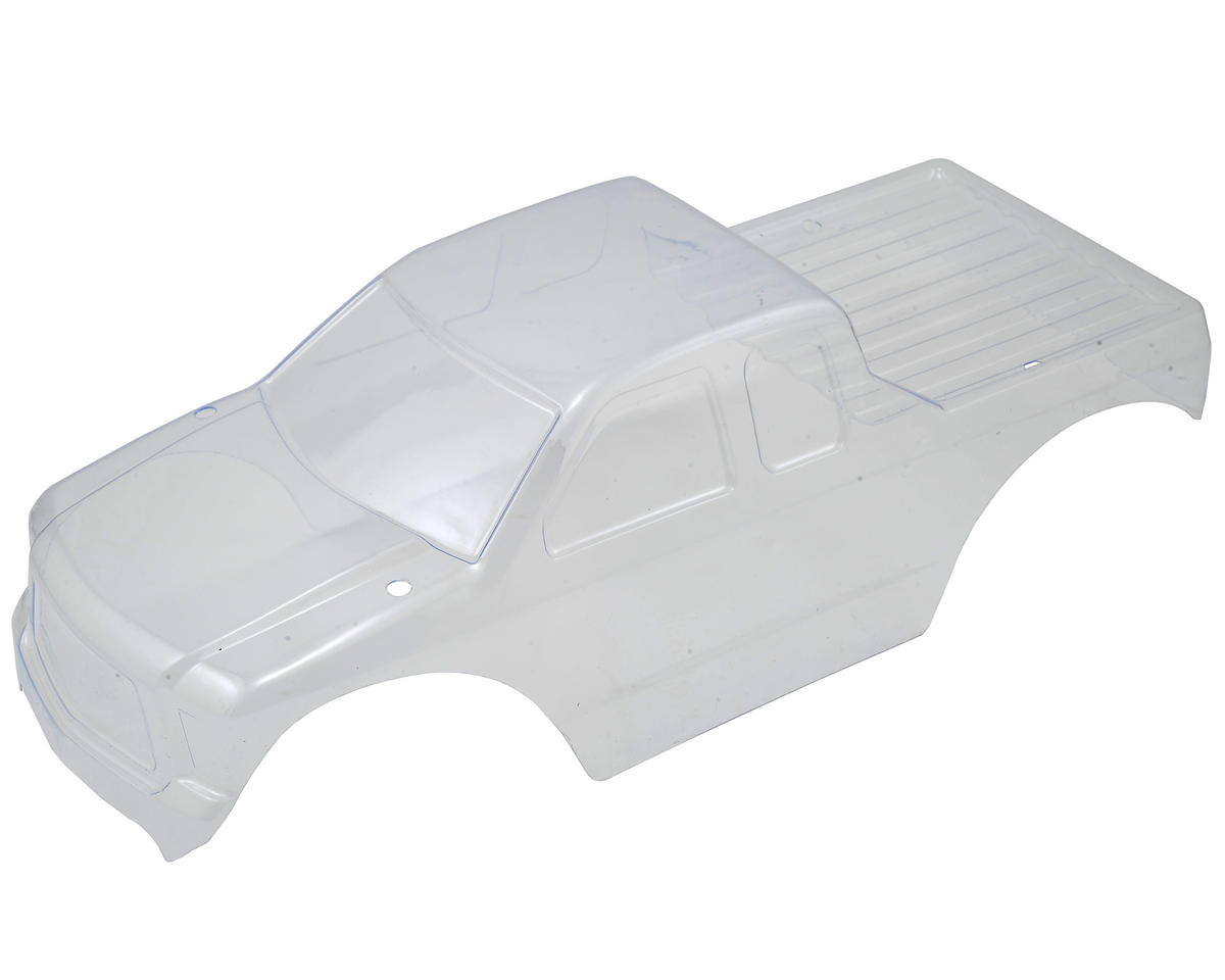 Intrusion Truck Body (Clear) by Helion RC