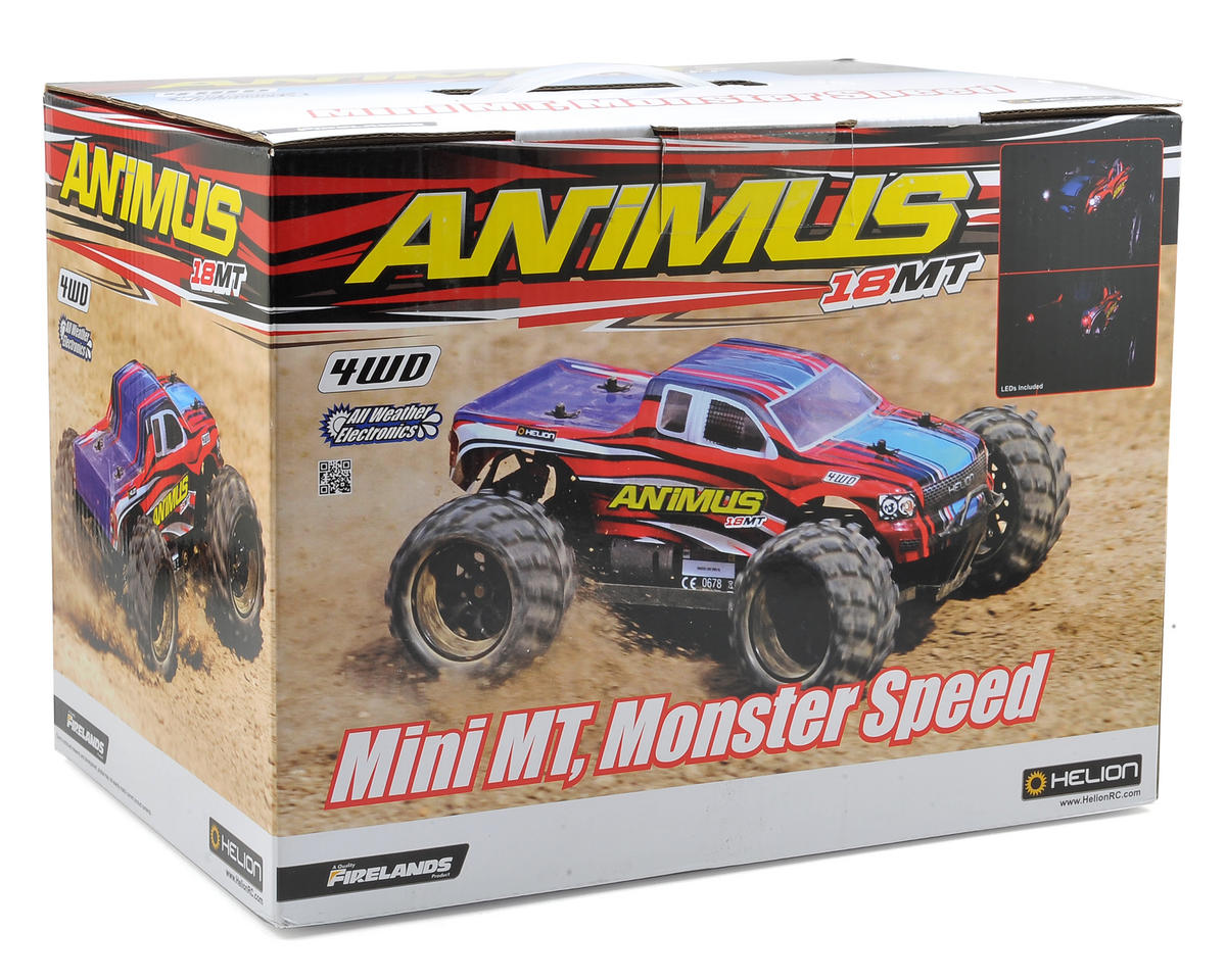 Helion RC Animus 18MT 4X4 Monster Truck (G2)
