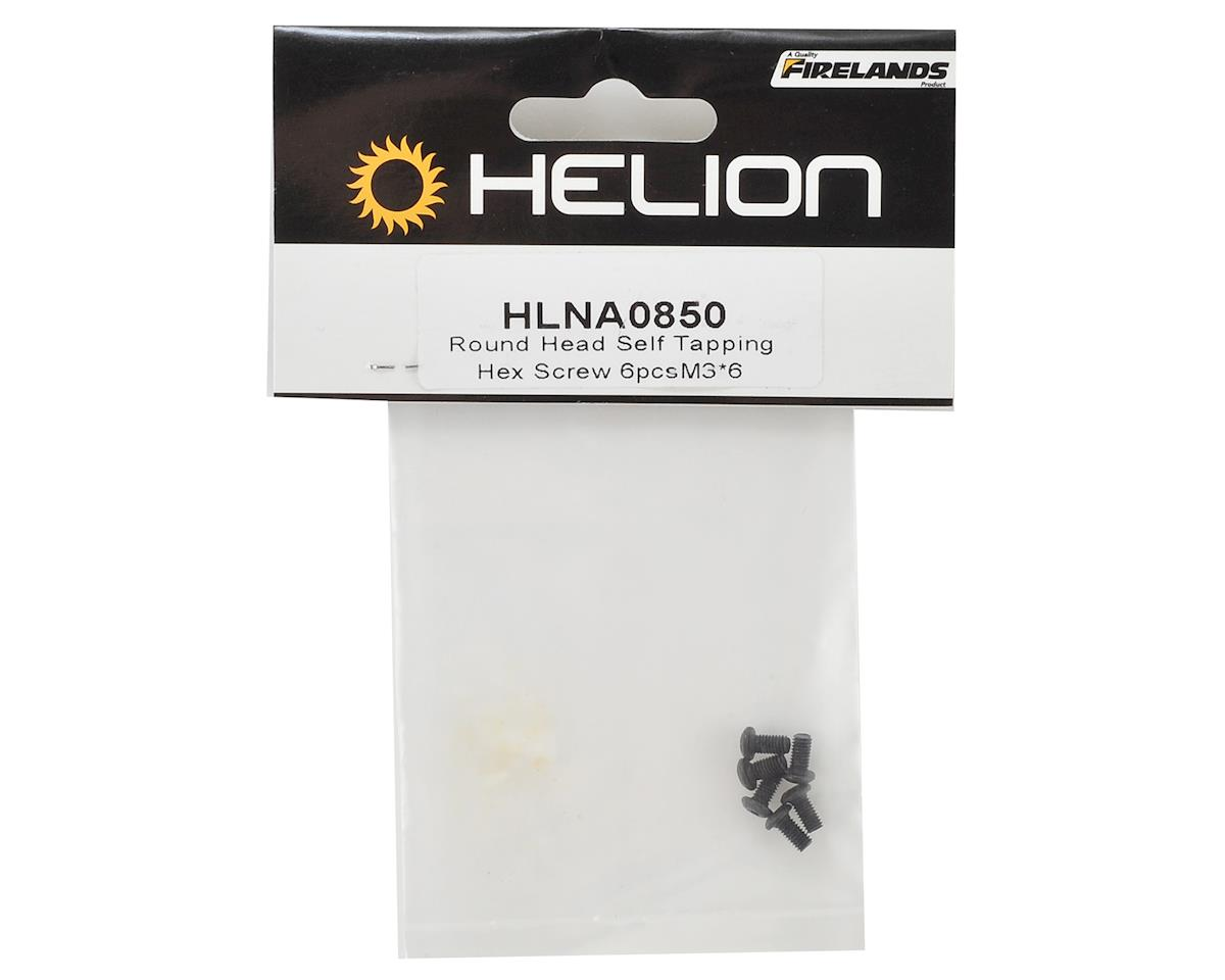 Helion RC 3x6mm Button Head Self Tapping Hex Screw (6)