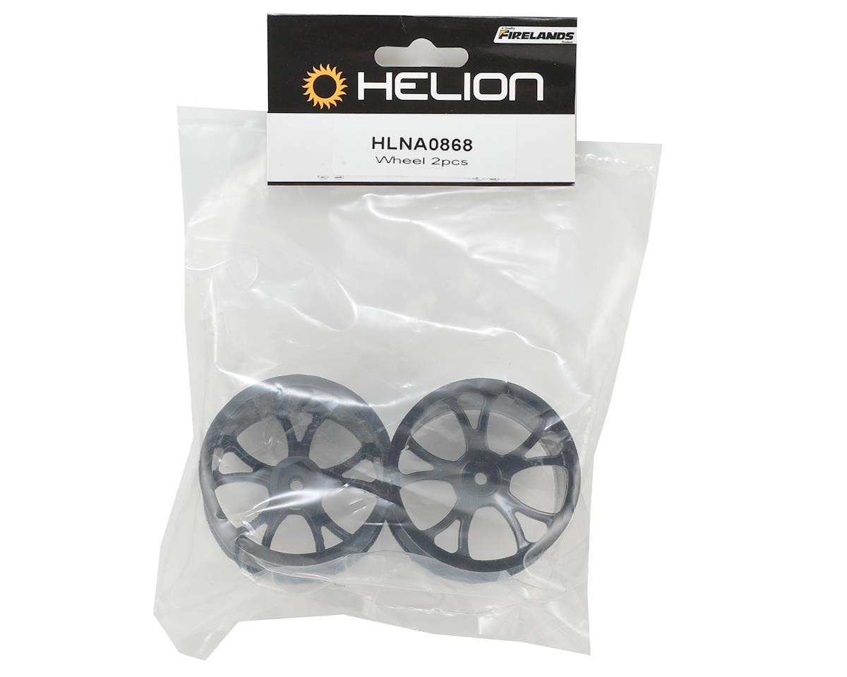 Helion 12mm Hex Rock Rider Wheels (2) (Black)