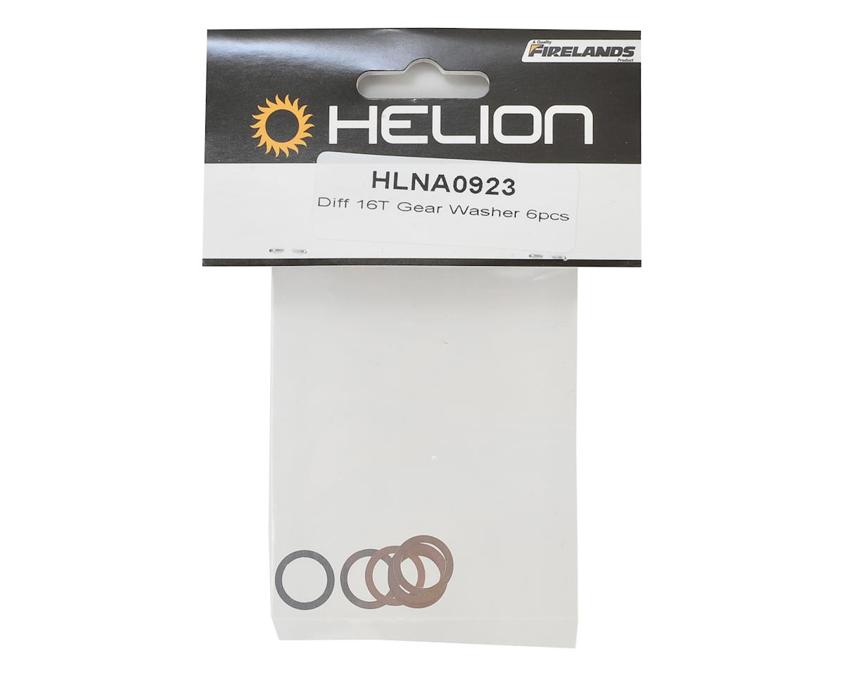 Helion Rock Rider Differential Gear Washer (6) (16T)