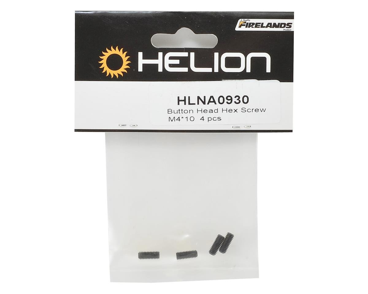 Helion 4x10mm Button Head Hex Screw (4)