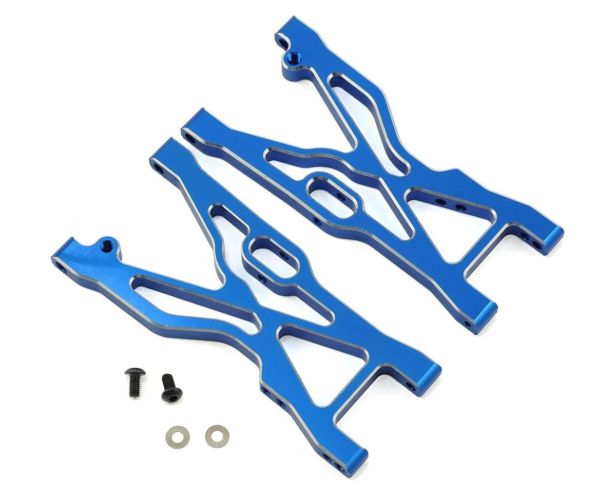 Helion Rock Rider XLR Alum Front Lower Suspension Arm (Blue) (2)
