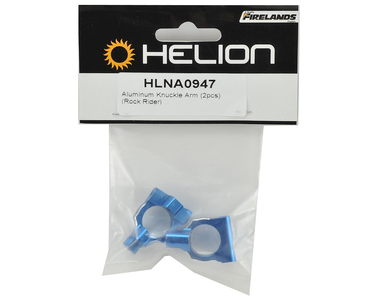 Helion Rock Rider Aluminum Knuckle Arm (Blue) (2)