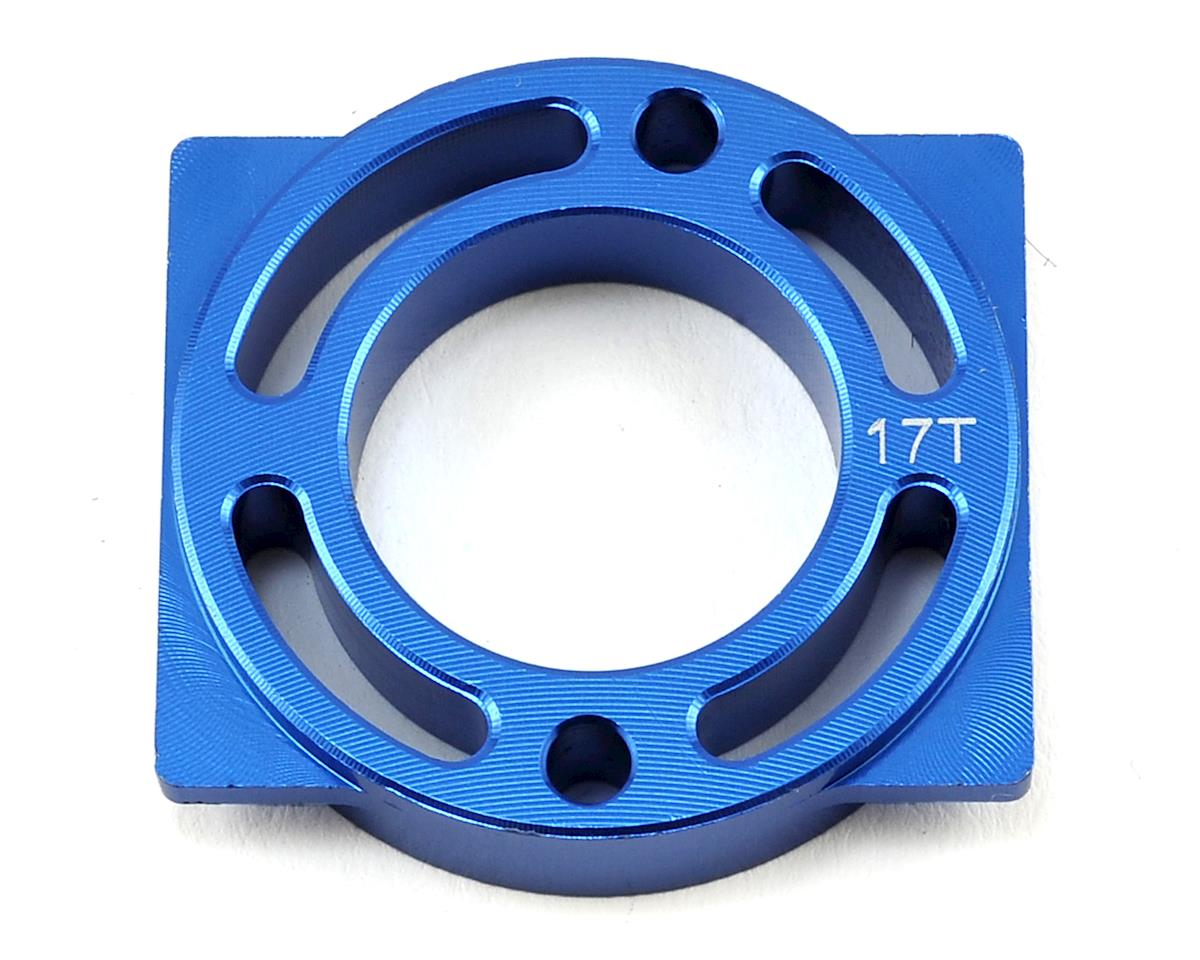 Helion Rock Rider Aluminum Motor Mount (Blue) (For 17T)