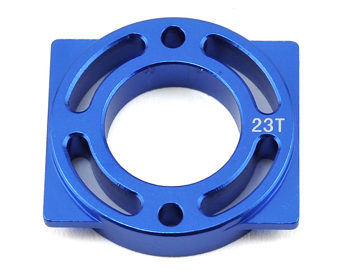 Helion Rock Rider Aluminum Motor Mount (Blue) (For 23T)