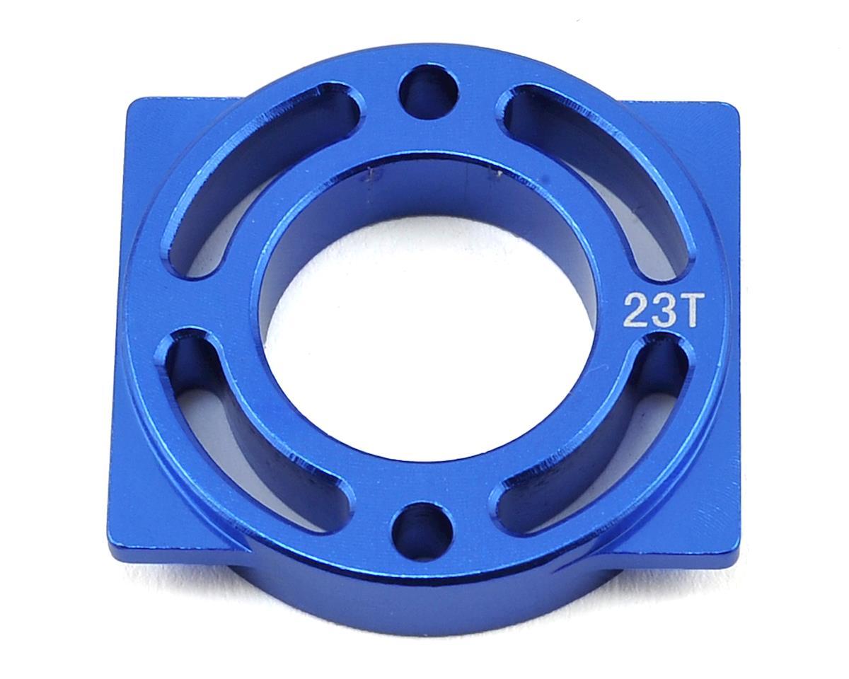 Helion Rock Rider Aluminum Motor Mount (Blue) (For 23T)