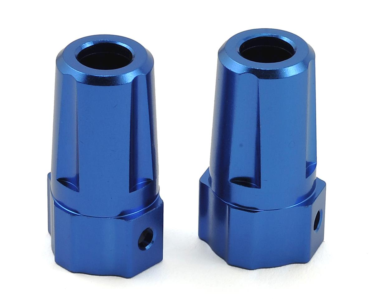 Helion Rock Rider XB Aluminum Axle Adapter (Blue) (2)