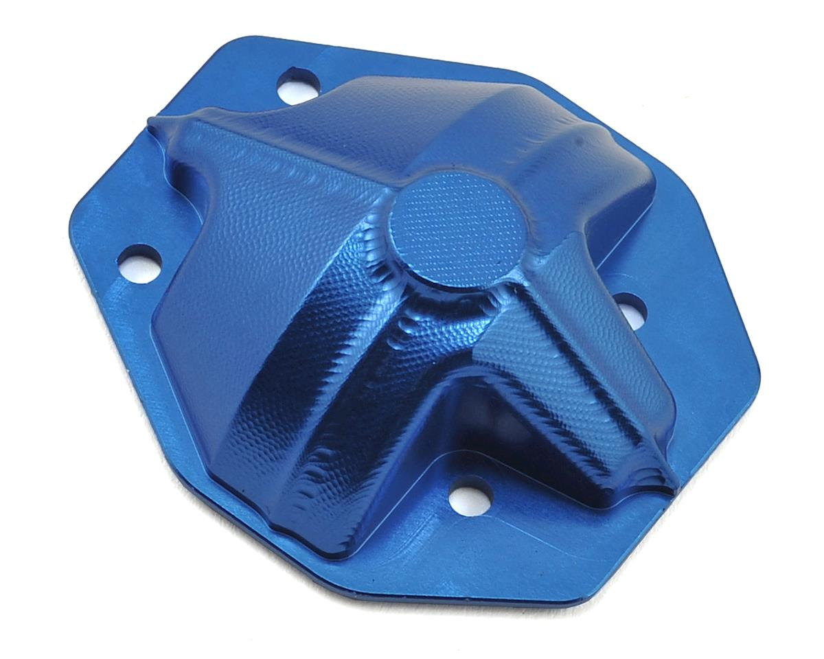 Helion Rock Rider Aluminum Rear Axle Cover (Blue)