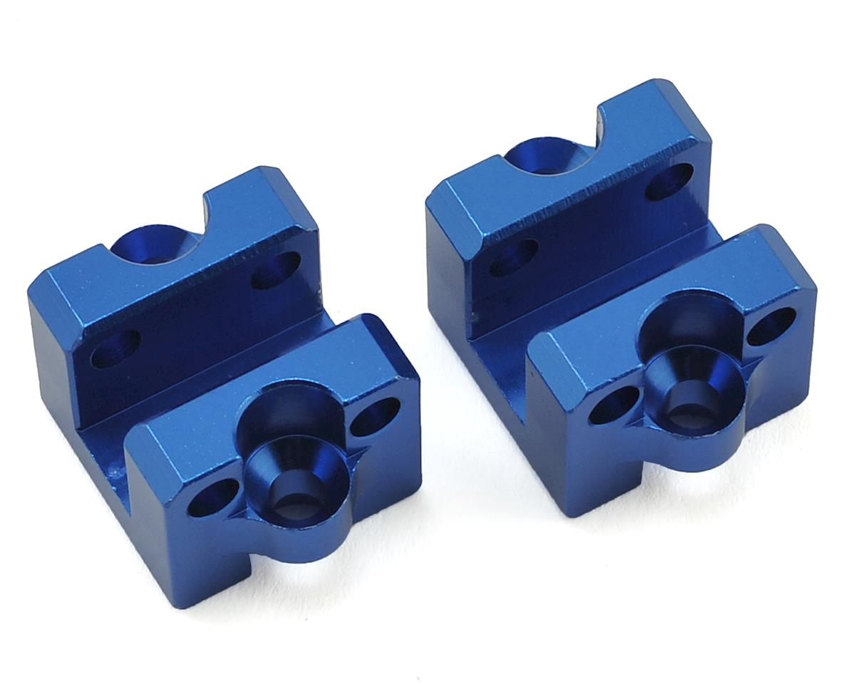 Helion Rock Rider Aluminum Rear Shock Support Rod Rear Holder (Blue) (2)