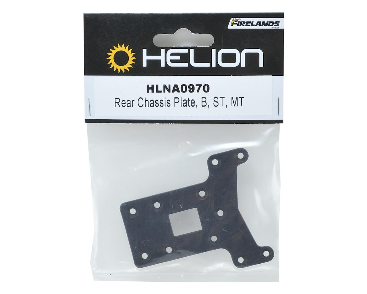 Helion Rear Chassis Plate
