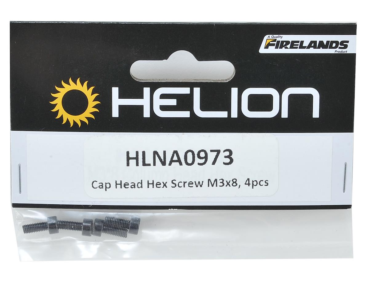 Helion 3x8mm Cap Head Hex Screw (4)