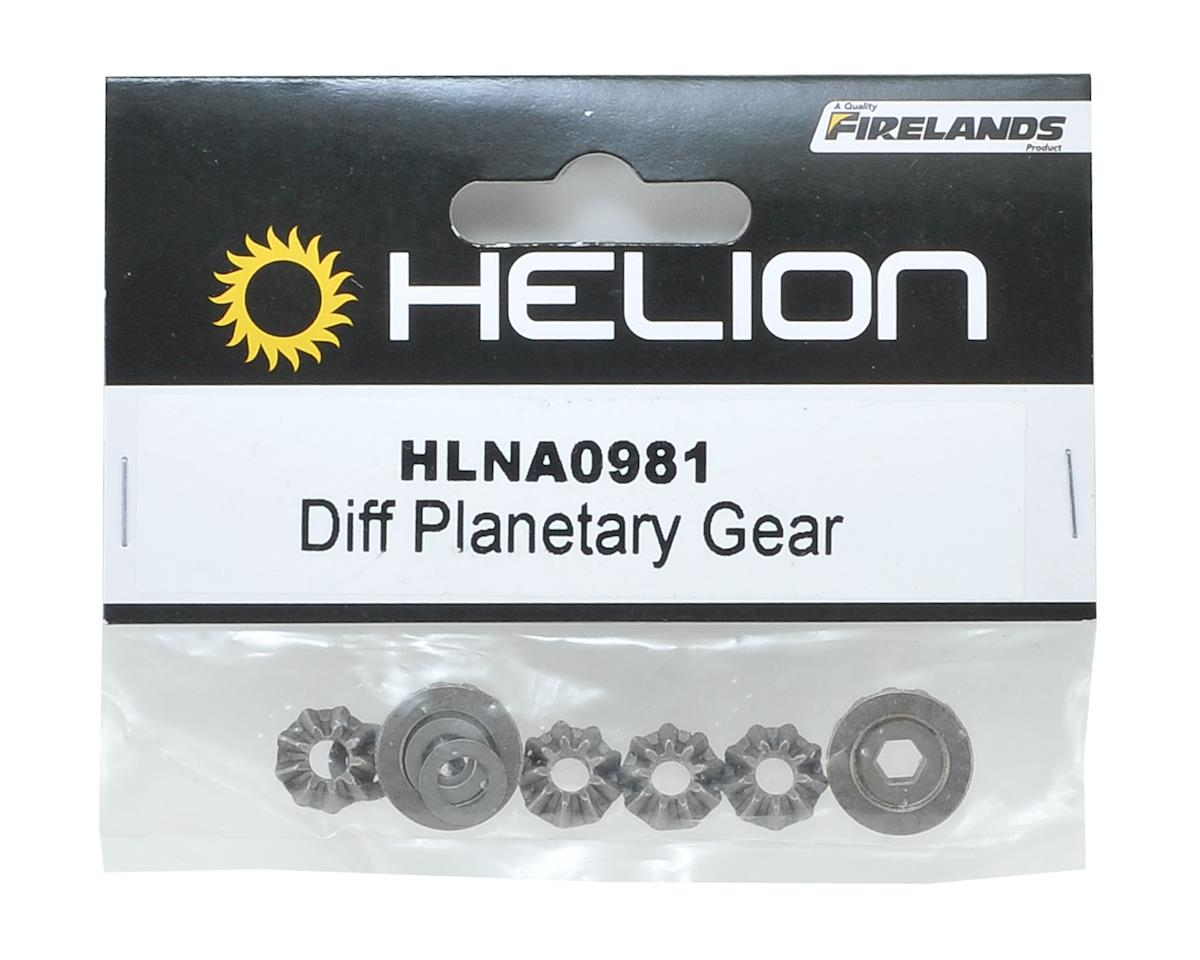 Differential Planetary Gear Set by Helion
