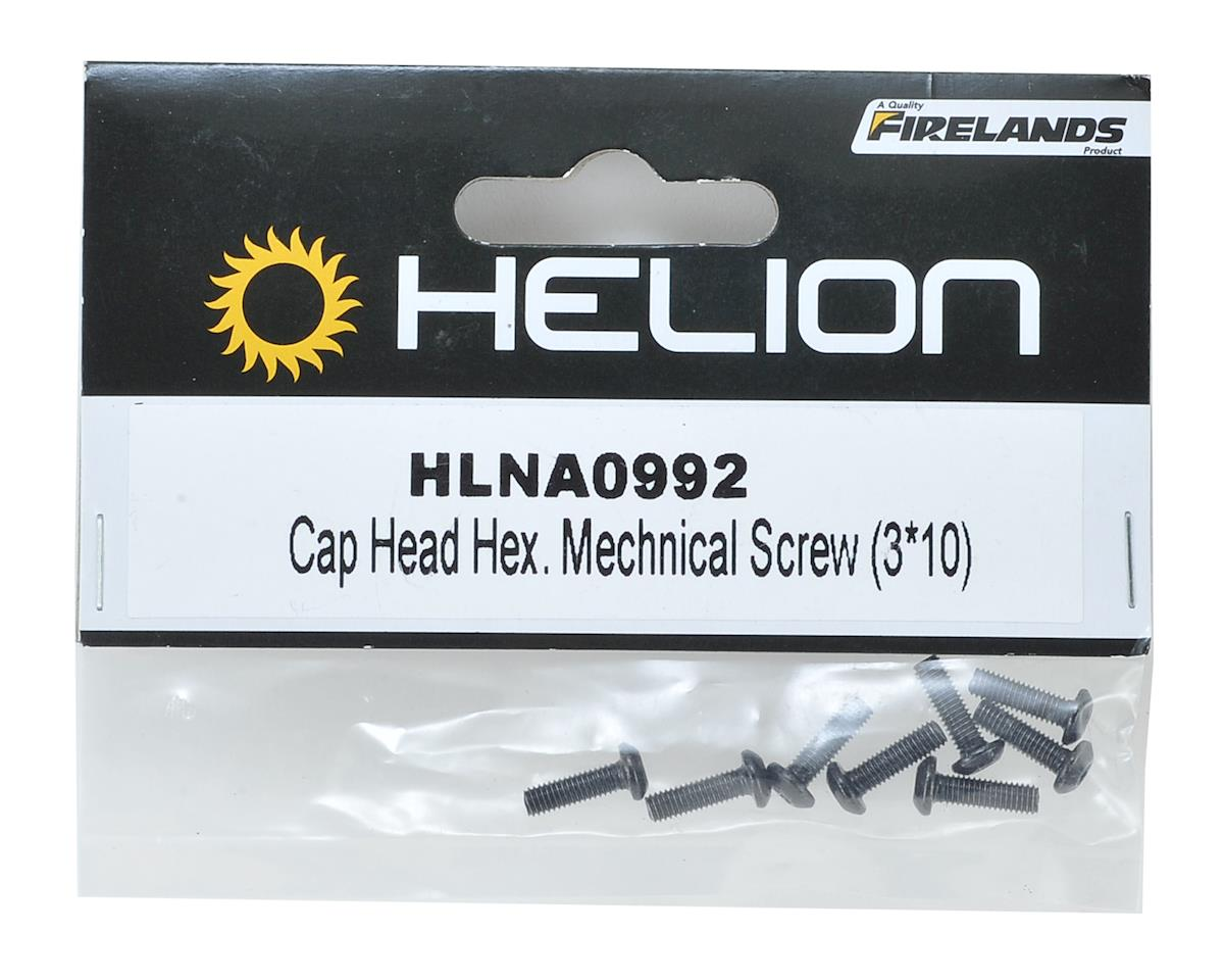 Helion 3x10mm Button Head Hex Screw (8)