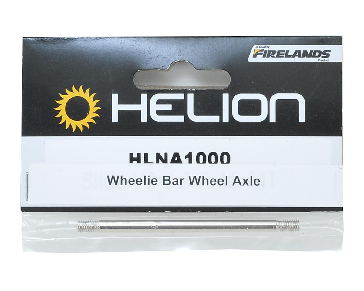 Helion Wheelie Bar Wheel Axle