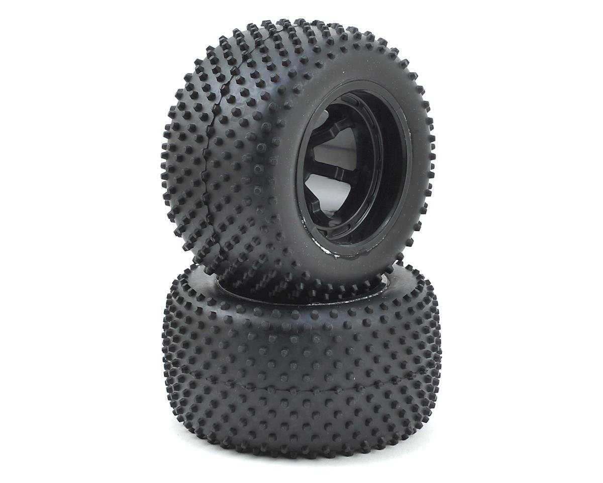Helion Conquest 10ST XLR RC 12mm Hex Pre-Mounted Rear Spike Tire w/Wheels (2)