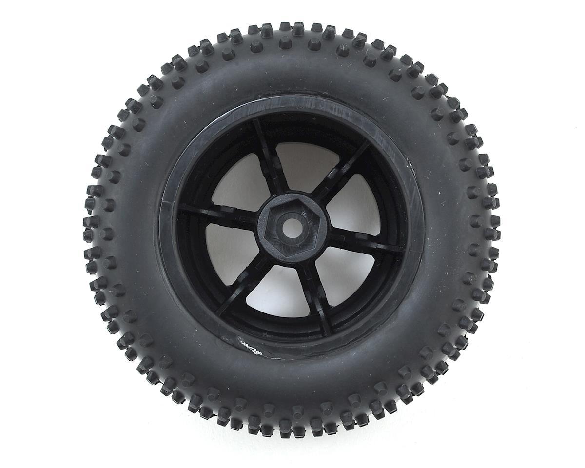 Helion RC 12mm Hex Pre-Mounted Rear Spike Tire w/Wheels (2)