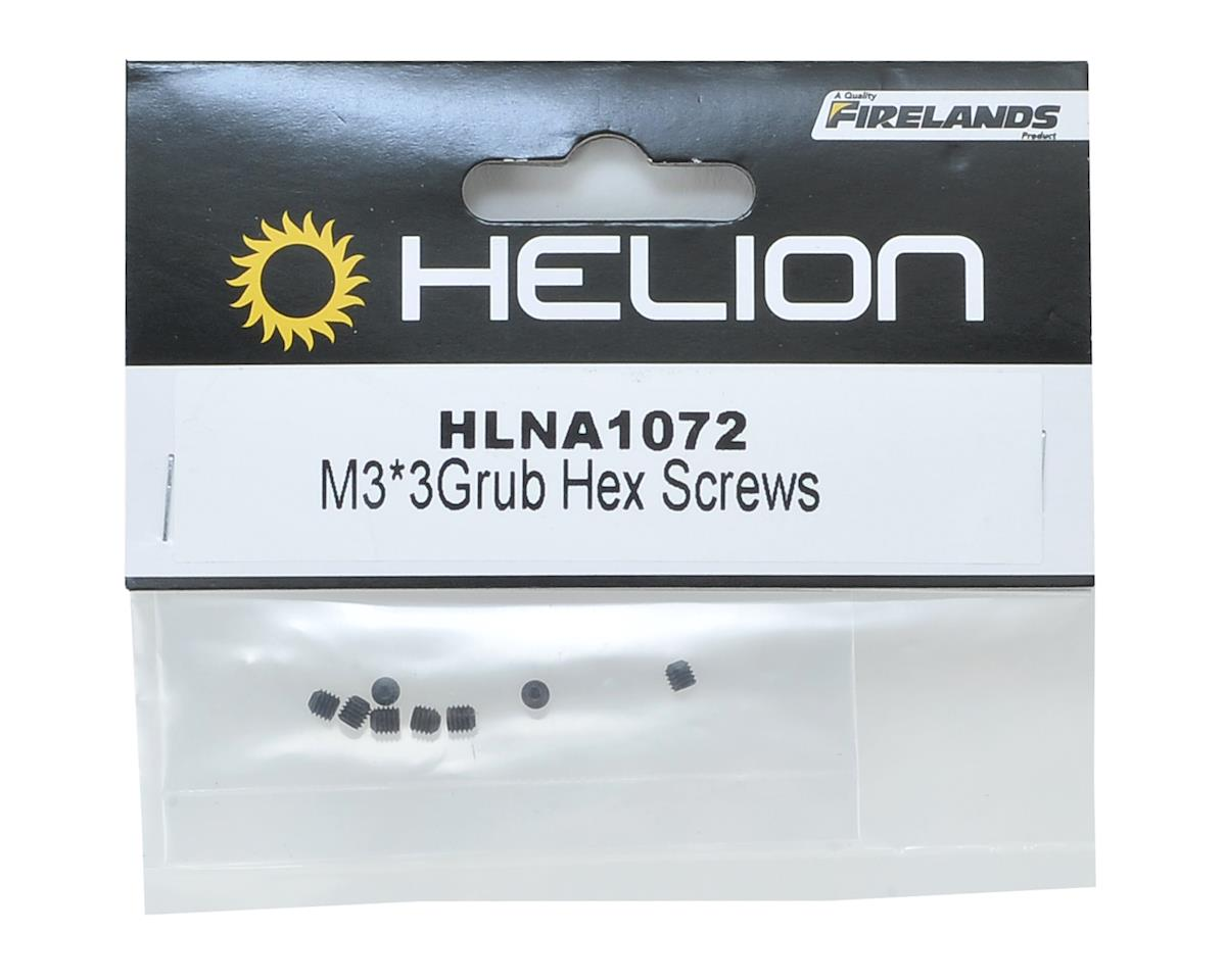 Helion RC 3x3mm Grub Set Screw (8)