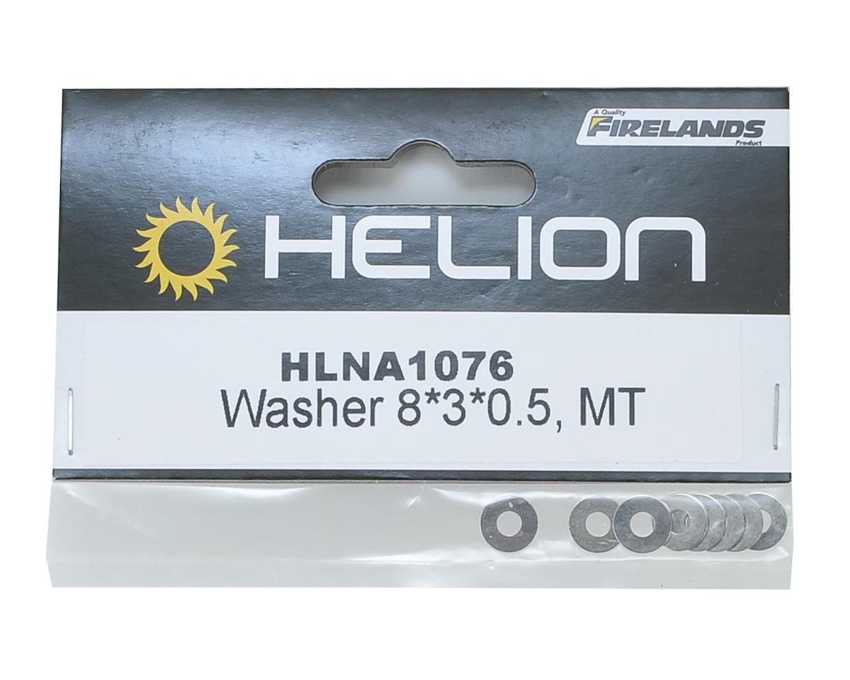 Helion 8x3x0.5mm Washer (8)