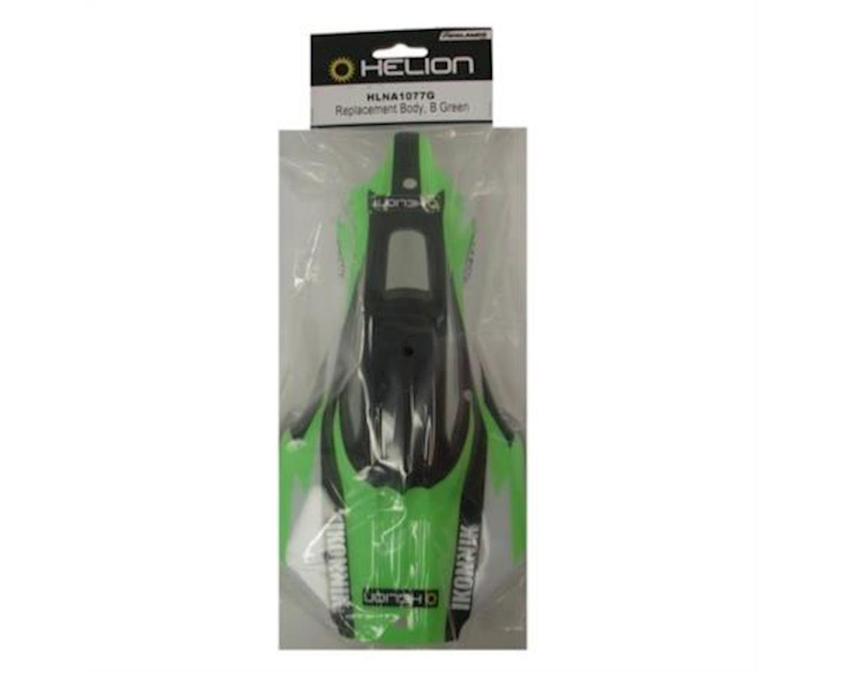 Helion HLNA1077G Replacement Body, Green (Conquest 10B)