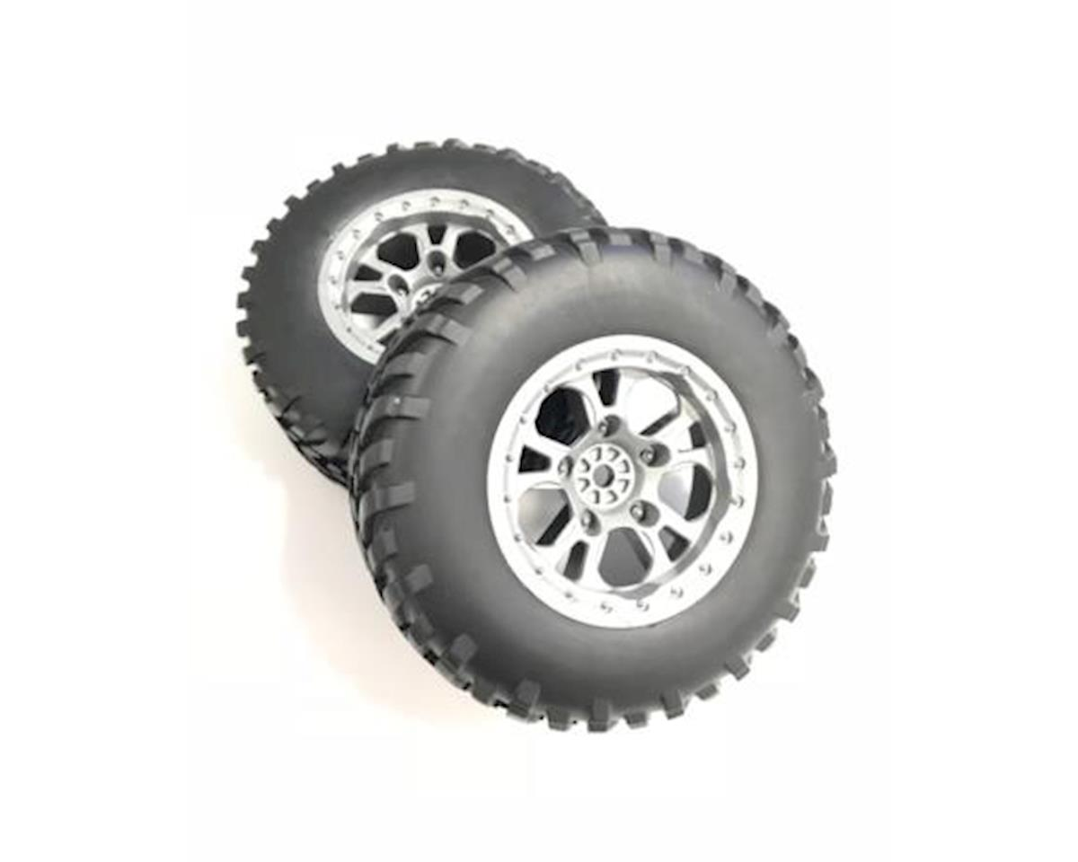 Helion HLNA1122 Left/Right Tires, Mounted (Conquest 10SC)