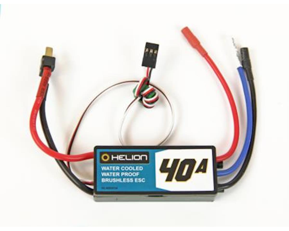 Helion 40A Water-Cooled, Water-Proof Brushless ESC (Rivos, Rivos BL)