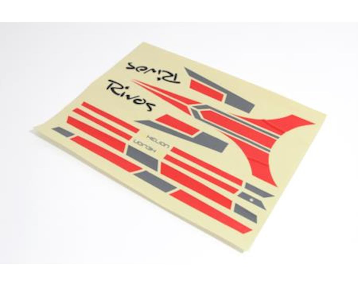 Helion HLNB0041 Red Decal Sheet: Rivos