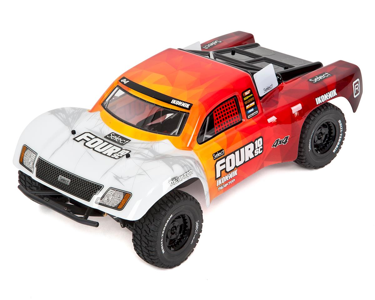 Select Four 10SC 4WD Brushless Short Course Truck by Helion
