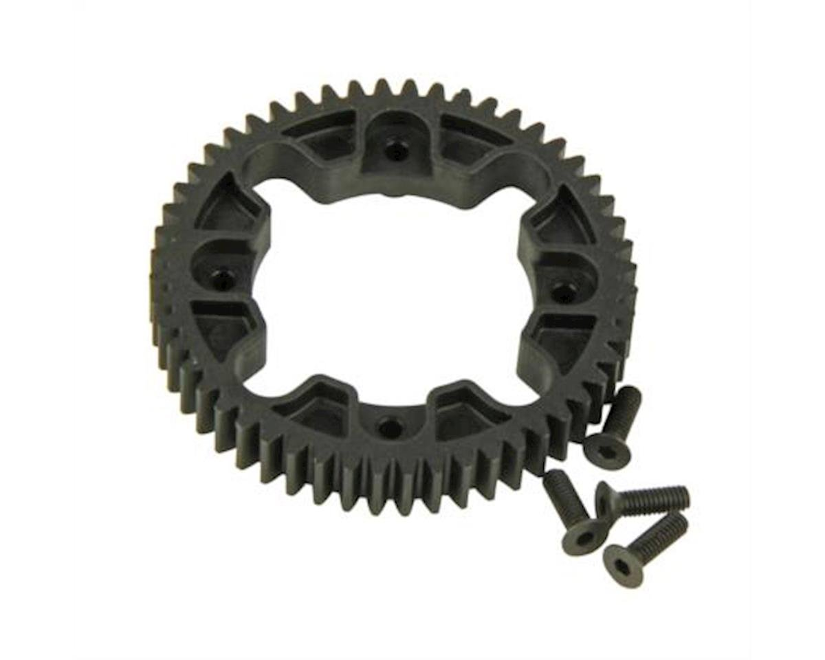 Helion Spur Gear, Center Differential, 32P, 52T (Four 10SC)