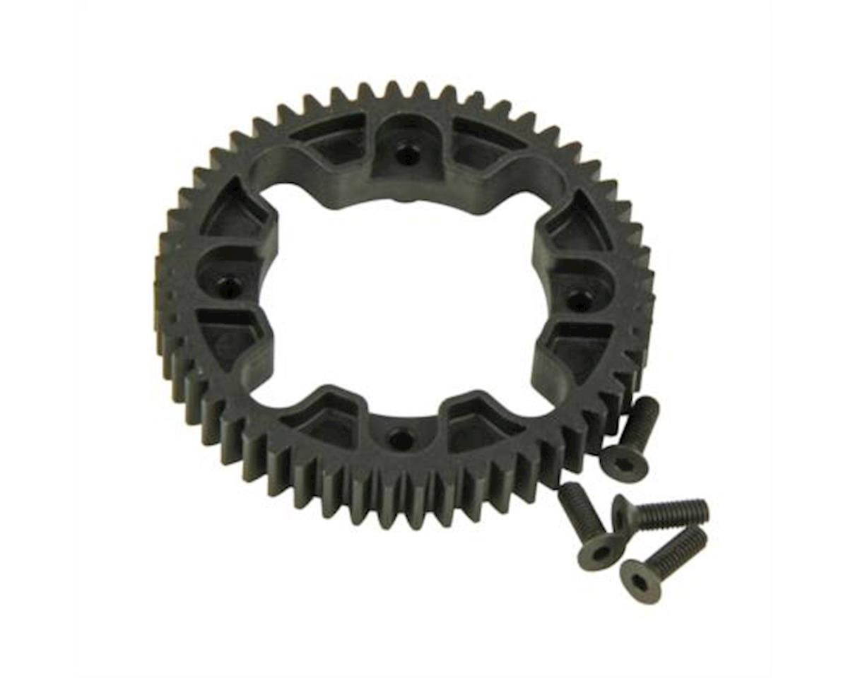 Spur Gear, Center Differential, 32P, 52T (Four 10SC) by Helion