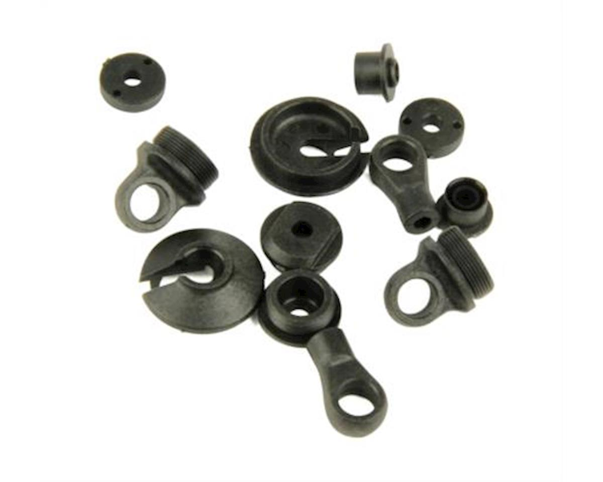 Helion Select Four 10SC Shock Plastic Rebuild Kit (Four 10SC)