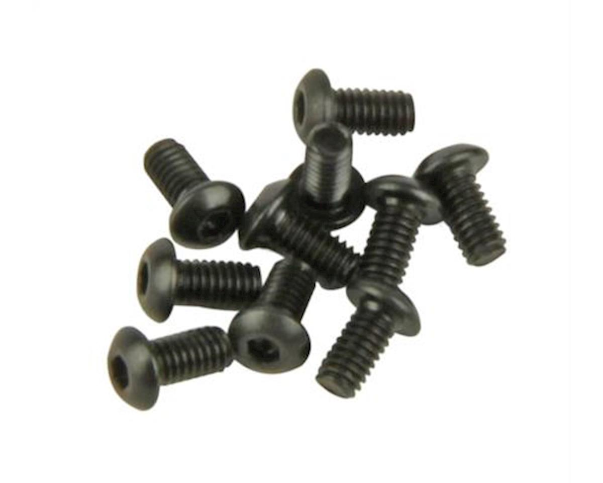 Helion Button Head Cap Screws (BHCS) M2.5x4mm (10) (Four 10SC)