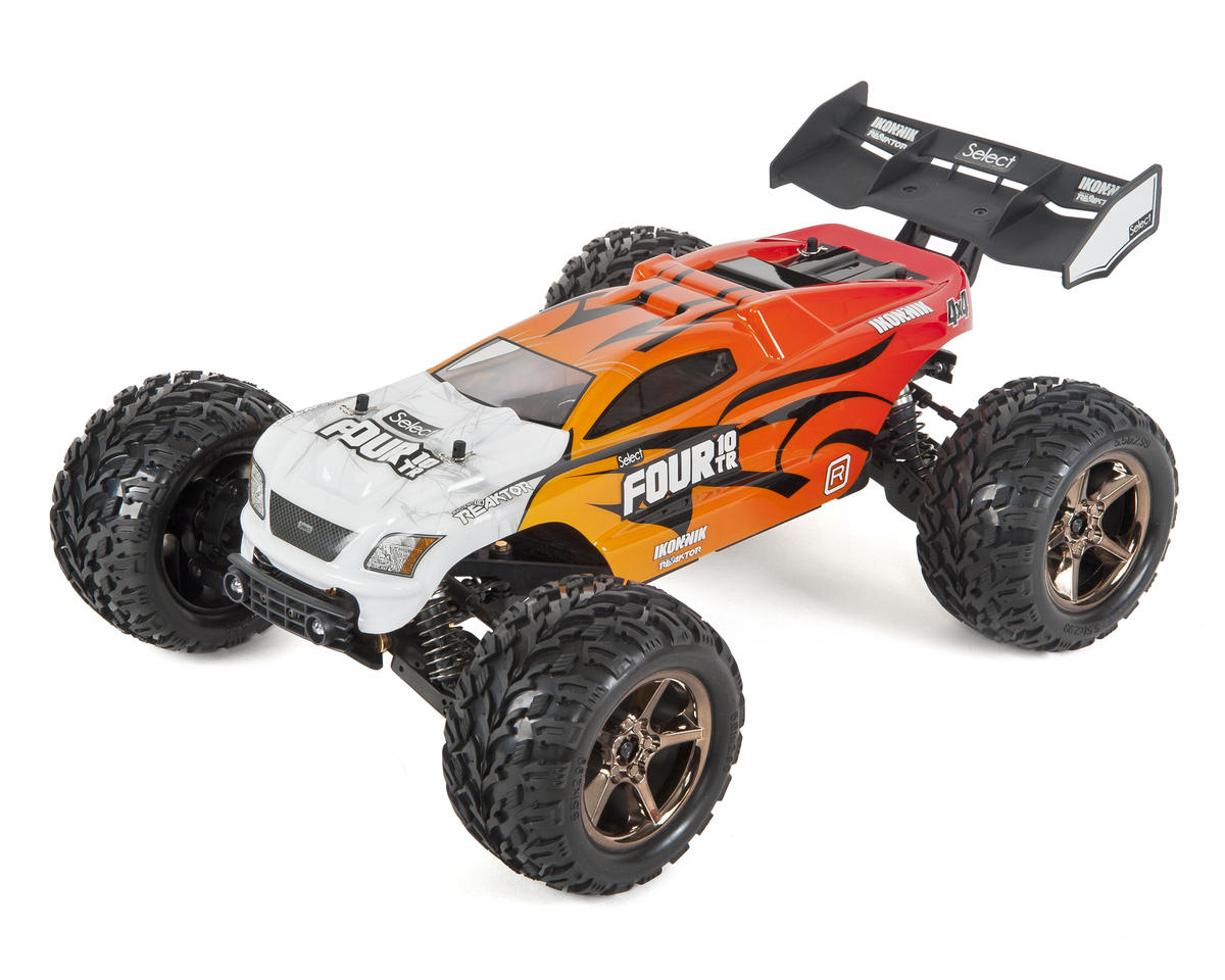 Four 10TR RTR 4WD Brushless Truggy w/2.4GHz Radio