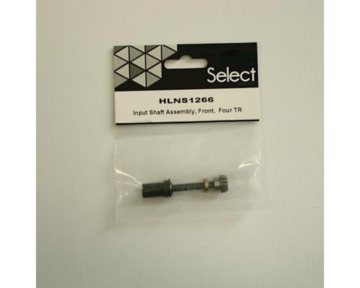 Helion Input Shaft Assmbly Fr Four Tr