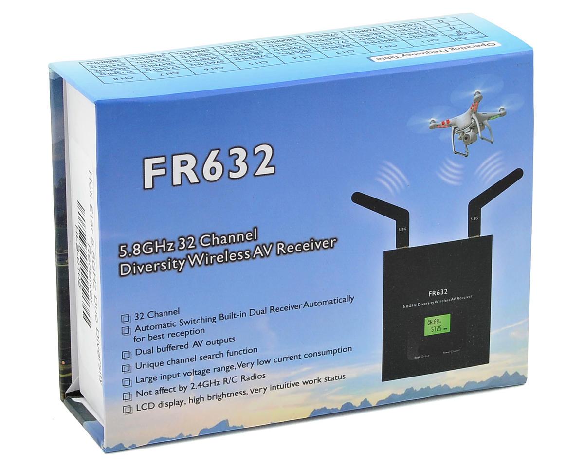 SCRATCH & DENT: HeliStar FR632 5.8GHz Duo Diversity Receiver
